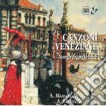 Canzoni Veneziane, Musica Vocale cd musicale