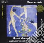 Mussorgsky Modest Petrovich - Quardri Di Una Esposizione, Nove Pezzi  - De Barberiis Lya  Pf cd musicale di Mussorgsky modest pe