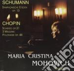 STUDI SINFONICI OP.13, 5 VARIAZIONI OP.P cd musicale di Robert Schumann