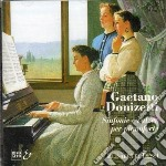 Donizetti Gaetano - Sinfonie E Valzer X Pf. /elisabetta Dessi' Pianoforte cd musicale di Gaetano Donizetti