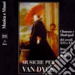 Musica Vocale Del Xvi E Xx Secolomusiche Per Van Dyck /maenco Sop, Gay Con, Bartolini Ten, Longhi B, Ring Around Quartet cd musicale