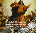 Gabrieli Andrea / Cavazzoni Marc' Antonio - Musiche Per Organo  - De Pieri Sergio  Org cd musicale di Andrea Gabrieli