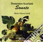 Scarlatti Domenico - Sonata X Clav K 144, 146, 208, 209, 134,135, 490, 492, 424, 425, 435, 436 /maria Vittoria Guidi, Cmbalo cd musicale di Domenico Scarlatti