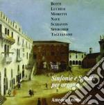 Sinfonie E Sonate Di Botti, Luchesi, Moretti, Nave, Schiavon, Spergher /amedeo Aroma Organo cd musicale