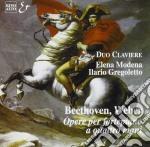 Weber Carl Maria Von / Beethoven Ludwig Van - Opere X Fortepiano A 4 Mani: 6 Pezzi Op.3 E Op.10 /elena Modena, Ilario Gregoletto Duo Claviere cd musicale di WEBER CARL MARIA VON