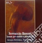 SONATE X VL (OPP.29 E 36A) cd musicale di Ferruccio Busoni