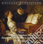 Mozart Wolfgang Amadeus - Sonata X Fortepiano K 19d, K 381, K 358, Fuga K 401, Andante Variazioni K 501  - Duo Claviere  Pf/elena Modena & Ilario Greg cd musicale di Wolfgang Amadeus Mozart
