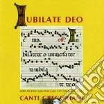 IUBILATE DEO cd musicale