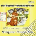 CANTO GRGORIANO cd musicale