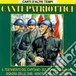 Canti patriottici cd musicale di Artisti Vari