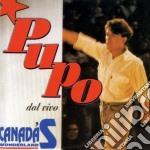 Pupo - Pupo Dal Vivo cd musicale di Pupo