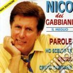 Il meglio cd musicale di Nico dei gabbiani