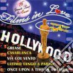 Films In Love: Hollywood cd musicale di Artisti Vari