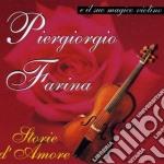 Piergiorgio Farina - Storie D'amore cd musicale di Piergiorgio Farina