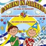 Bambini in allegria cd musicale di Artisti Vari