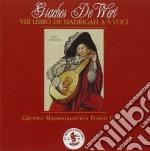 VIII LIBRO DE MADRIGALI A 5 VOCI (1586) cd musicale di DE WERT GIACHES