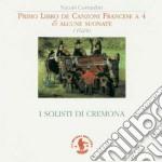 PRIMO LIBRO DE CANZONI FRANCESE A 4 cd musicale di NiccolÃ' Corradini