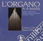 L'ORGANO A 4 MANI cd musicale
