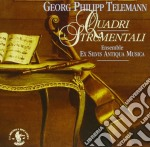 Telemann Georg Philip - Quadri Strumentali cd musicale di Telemann georg phili