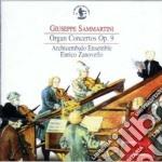 Sammartini Giuseppe - Organ Concertos Op. 9 cd musicale di Giuseppe Sammartini