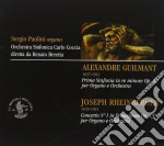 Guilmant Alexandre - Sinfonia In Re Minore Op. 42 cd musicale di Alexandre Guilmant