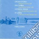 ORGANI STORICI DELL'UMBRIA cd musicale