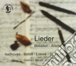 LIEDER - BALLADEN - ARIETTE cd musicale