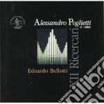 XII RICERCARI, TOCCATE, ARIETTE cd musicale di Alessandro Poglietti