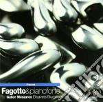 FAGOTTO & PIANOFORTE cd musicale