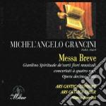 MESSA BREVE - ANTIFONE MARIANE - cd musicale di Michel'ange Grancini