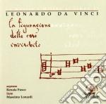 La Musica A Milano Al Tempo Di Leonardo, La Figurazione Delle Cose Invisibili cd musicale