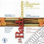 Bach J.S. - Concertos For 2 Harpsichords And Strings: Version For Organ, Hrpsd & Strngs cd musicale di Johann Sebastian Bach
