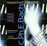 Bach Carl Philipp Emanuel - Harpsichord Concertos Wq 6, Wq 37, Wq 18 cd musicale di BACH CARL PHILIP EMA