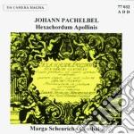 Pachelbel Johann - Hexachordum Apollinis 1699 cd musicale di Johann Pachelbel
