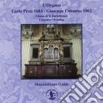 L'ORGANO CARLO PRATI 1683 - GIUSEPPE COL cd musicale di MARTINI GIOVANNI BAT