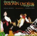 DANZE SLAVE OP.72, LEGGENDE OP.59 cd musicale di Antonin Dvorak