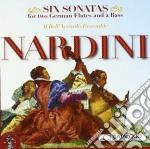 SONATE PER 2 TRAVERSIERI E BASSO CONTINU cd musicale di Pietro Nardini