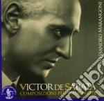 De Sabata Victor - Composizioni Per Pianoforte cd musicale di DE SABATA VICTOR