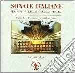 SONATE ITALIANE TRA '800 E '900 cd musicale