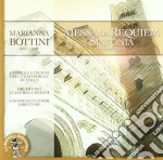 Marianna Bottini - Messa Da Requiem, Sinfonia In Do Maggiore cd musicale di Marianna Bottini