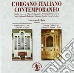 L'ORGANO ITALIANO CONTEMPORANEO           cd musicale