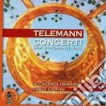 CONCERTI PER STRUMENTI VARI               cd musicale di Telemann georg phili