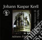 OPERA OMNIA - L'ORGANO BAROCCO DI COLLEM  cd musicale di Kerll johann kaspar