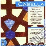 SCARLATTIANA, PUPAZZETTI, 4 FAVOLE ROMAN  cd musicale di Alfredo Casella