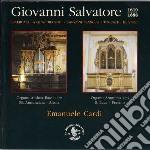 Opera omnia per organo cd musicale di Giovanni Salvatore