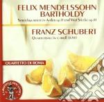 Mendelssohn Felix - Quartetto Per Archi Op.13, Scherzo Op.81/2, Capriccio Op.81/3, Fuga Op.81/4 cd musicale di Felix Mendelssohn