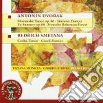 Danze slave op.46, dalla foresta boema o cd musicale di Antonin Dvorak