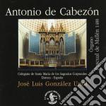 Cabezon Antonio De - Tientos, Duos, Duuiensela, Pavana Con Su Glosa, Himno A 3, Por Un Plasir, ... cd musicale di CABEZON ANTONIO DE