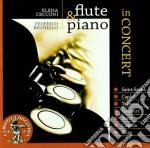 Flute & piano in concert cd musicale di Miscellanee