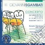Concerto per pianoforte op.15 cd musicale di Giovanni Sgambati